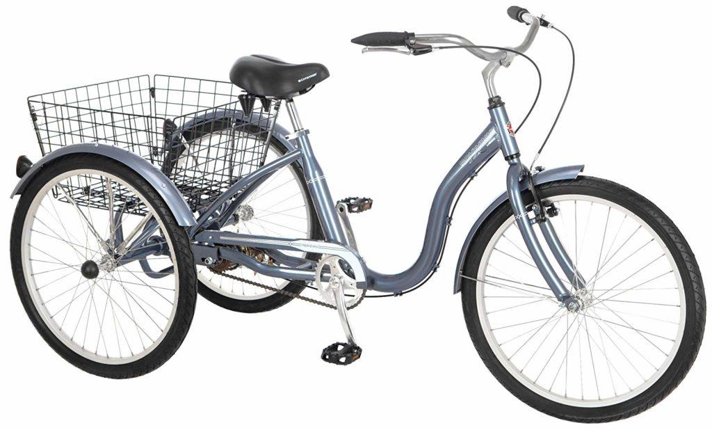 """Schwinn 24"""" Wheel Meridian Adult Tricycle - 3 wheel recumbent bicycle"""