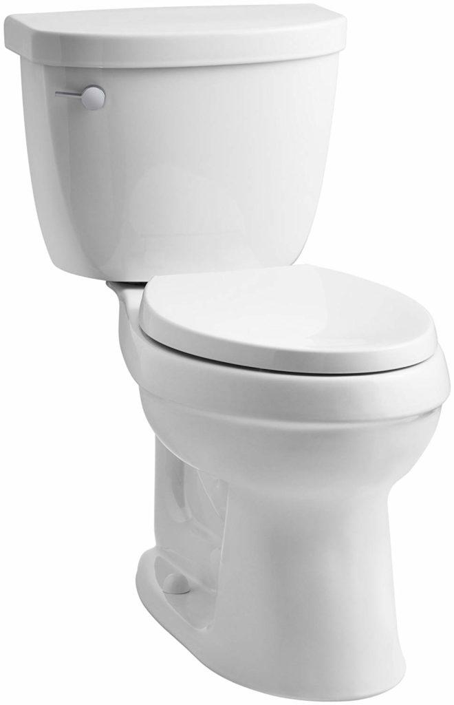 KOHLER K-3609-0 Cimarron Elongated 1.28 gpf Toilet