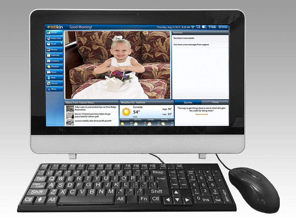 Telikin 18 inch Home Desktop Computer