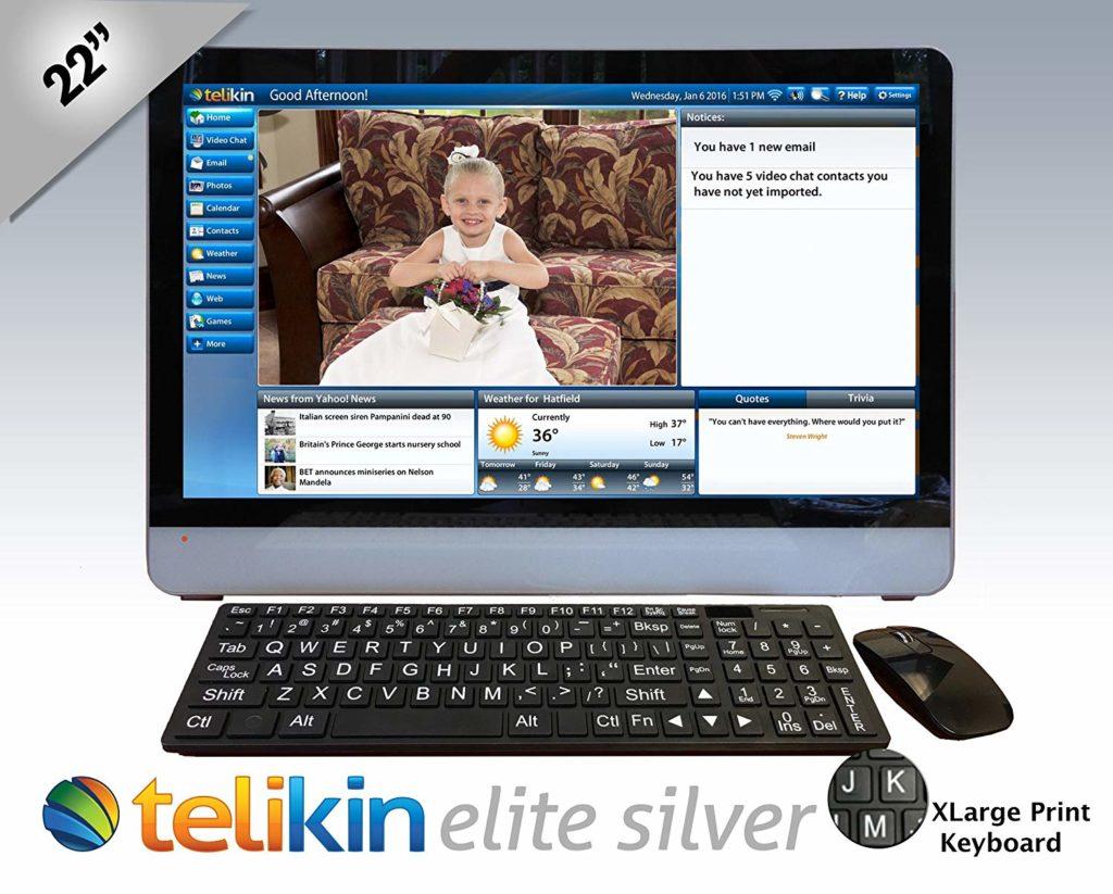 Telikin Elite II – 22 inch Touchscreen Computer