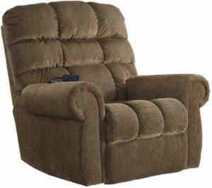 Ashley Furniture Ernestine Power-Lift Recliner, Truffle
