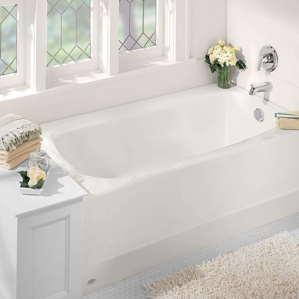 American Standard 2461002.020 Cambridge Apron-Front Americast Soaking Bathtub