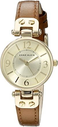 Anne Klein Women's 10 9442 Leather Strap Watch