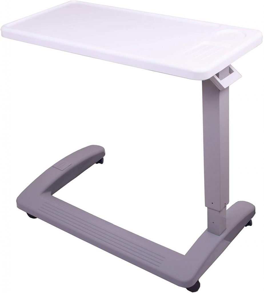 Carex and Hospital Overbed Tables for Elderly
