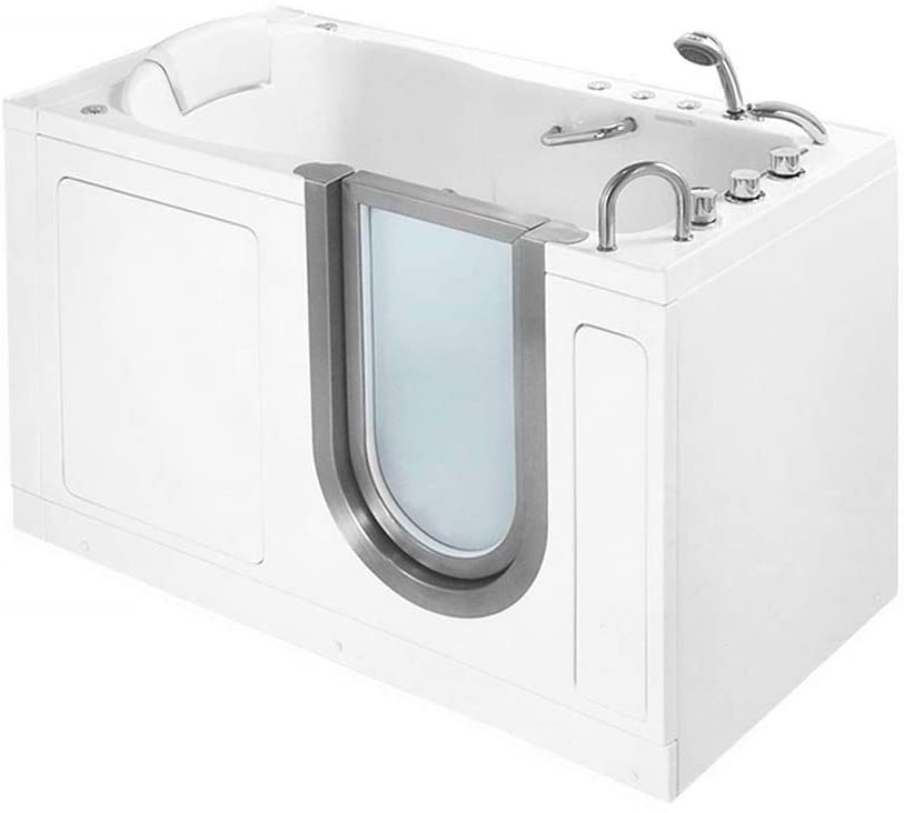 Deluxe Massage Whirlpool Walk In BathTub for seniors