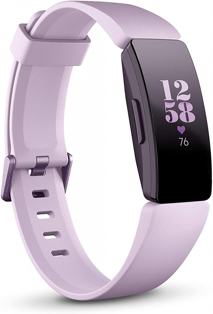 Fitbit Inspire HR Heart Rate and Fitness Tracker - best fitbits for seniors