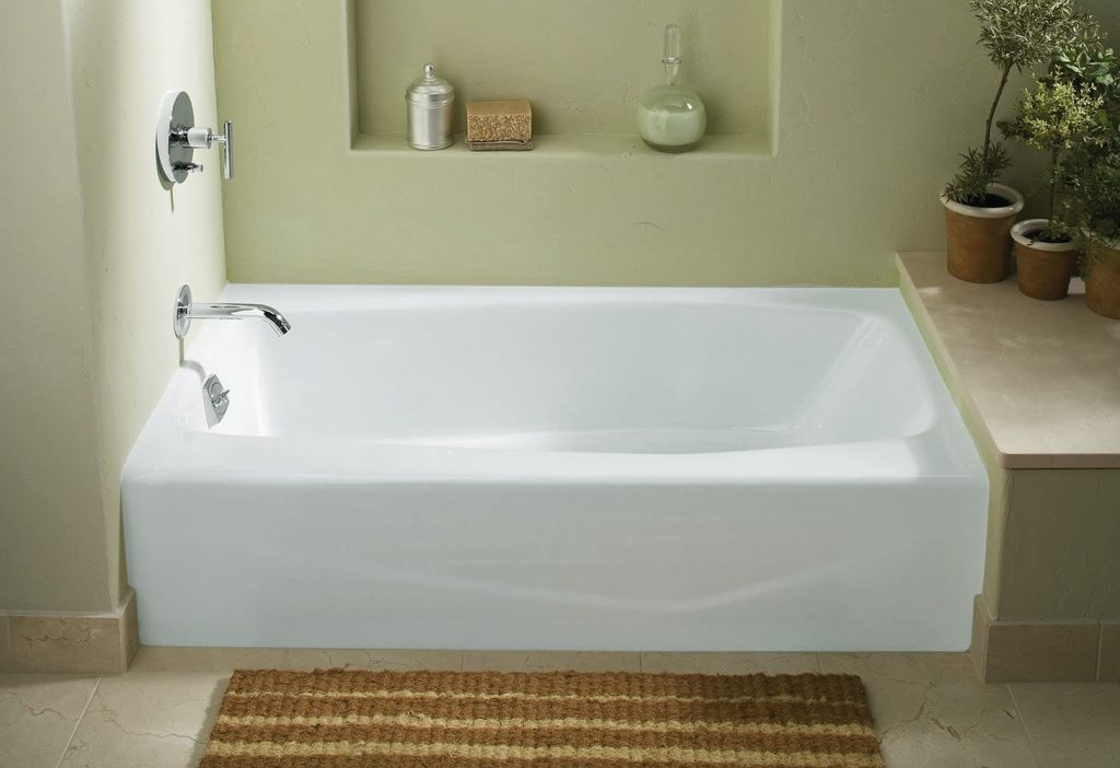KOHLER 715-0 Villager Alcove Bathtub for adults