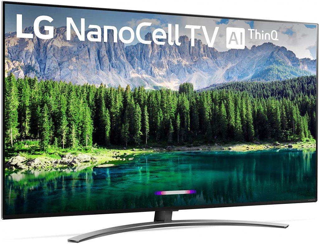 LG 55SM8600PUA Nano 8 Series 55 inch 4K Ultra HD Smart LED NanoCell TV