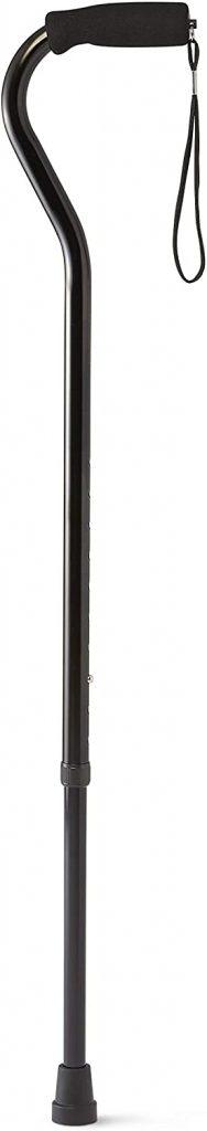 Medline Offset Handle Cane - best walking cane for stability