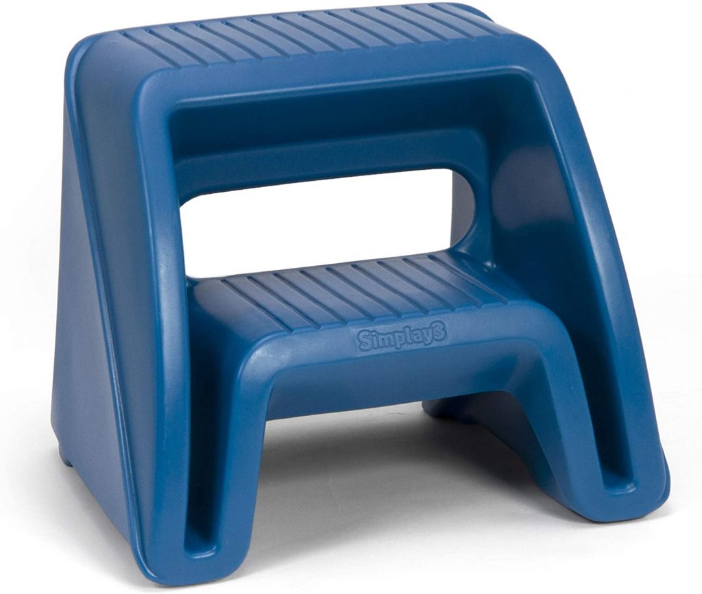 Simplay3 Handy Home 2-Step Plastic Stool - Best Step Stools for the Elderly