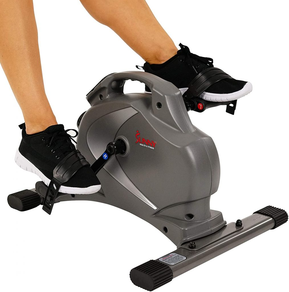 Sunny Health & Fitness Magnetic Mini Exercise pedal for the elderly