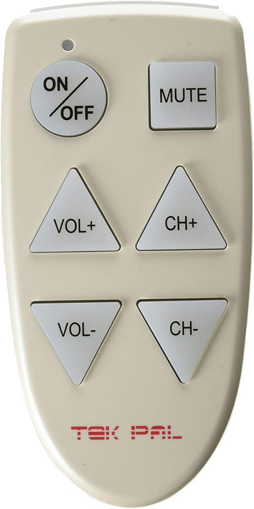 Tek Pal - Large Button TV remote controls for the elderly