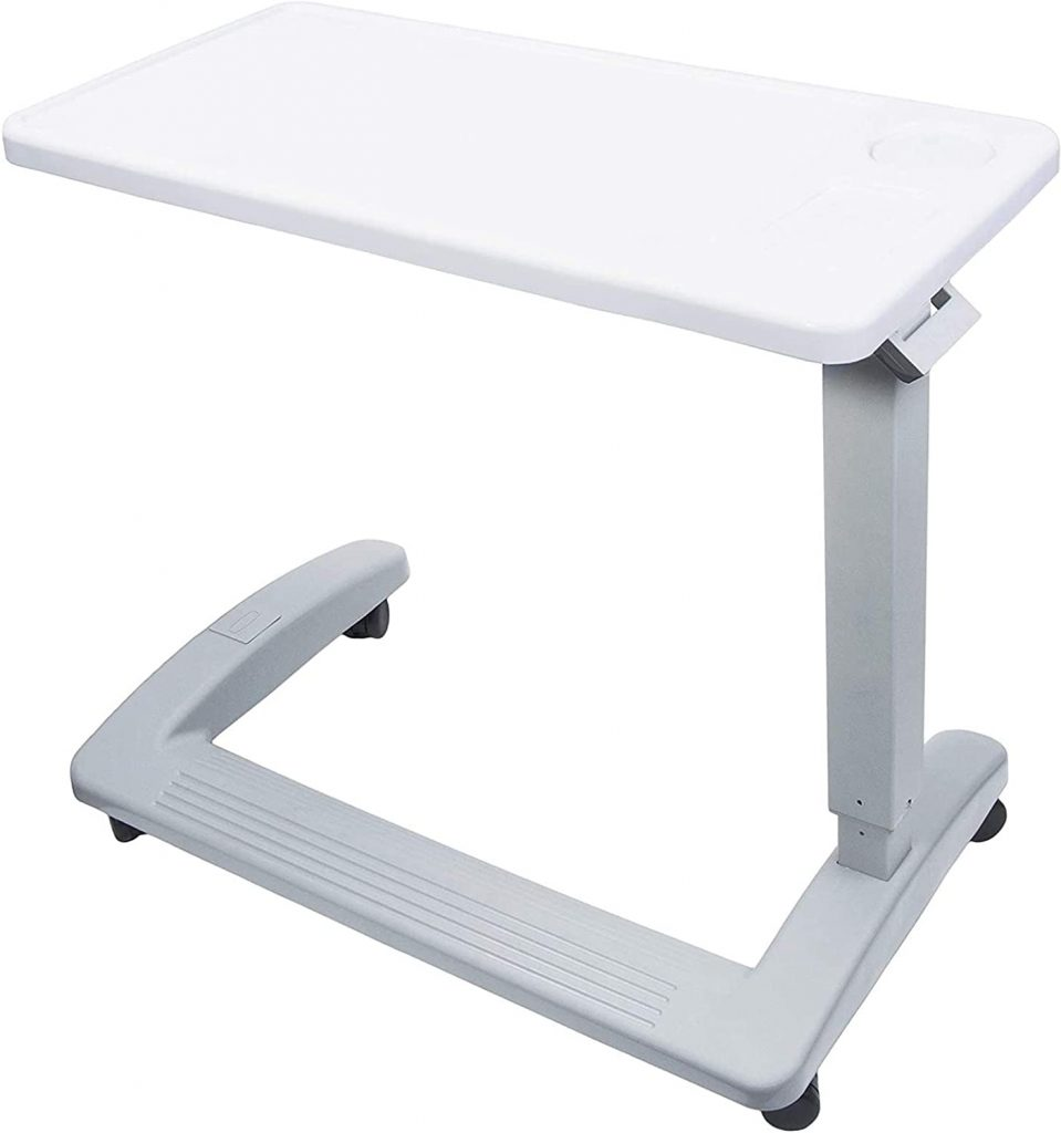 Vaunn Medical Deluxe Adjustable  Overbed Tables for Seniors